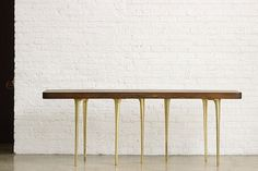 A long-distance partnership between designers in Chicago and Jaipur produces a unique line of furniture New Furniture, Furniture Collection, Jaipur, Distance, Designers, Corner, Table, Home Decor, Decoration Home