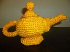 Genie in a Lamp free crochet pattern by Jazmo Crochet