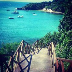 Praia da Azeda en Búzios, RJ