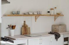DIY | Otevřená police v kuchyni | Jane at home