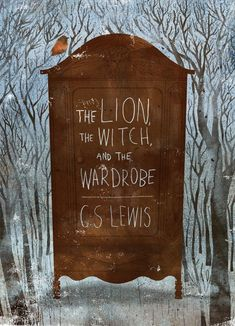 Illustration by Kevin Howdeshell -The Lion, the Witch, & the Wardrobe, and the entire Narnia series, C. Book Cover Art, Book Cover Design, Book Design, Book Art, Design Poster, Art Design, Flyer Design, Graphic Design, Beautiful Book Covers
