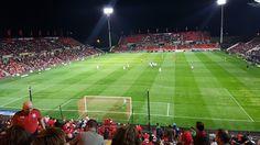 Hindmarsh Stadium, Adelaide.   Adelaide United v Western Sydney Wanderers, April 2017.