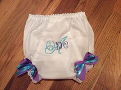 1st Birthday Bloomers Panty Covers Purple Teal Cover by lettersandlollipops on Etsy