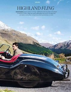 David Gandy talks to The Telegraph 'Ultratravel Magazine' about Mini Mille Miglia in Scotland (Loch Lomond) #Jaguar #TheTelegraph #UltratravelMagazine #MiniMilleMiglia #MilleMiglia #JaguarMille #KiddGandy #Scotland #LochLomond #styleicon #malemodel #supermodel #petrolhead #britishstyle #gentleman #DavidGandy #DavidJGandyEspaña
