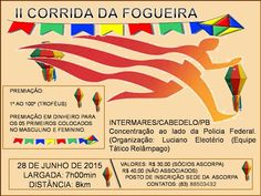 Corridas do MarcusCezar: II CORRIDA DA FOGUEIRA (INTERMARES/CABEDELO-PB)
