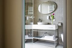 MOYA bathroom :: hotel JumpInn, Belgrade Belgrade, Bathroom Lighting, Mirror, Furniture, Home Decor, Bathroom Light Fittings, Bathroom Vanity Lighting, Decoration Home, Room Decor