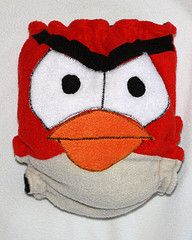 Angry Birds cloth diaper! YES!
