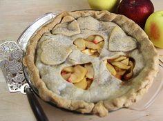 Homemade Apple pie recipe - apple pie is maybe my favorite pie #HilahCooking