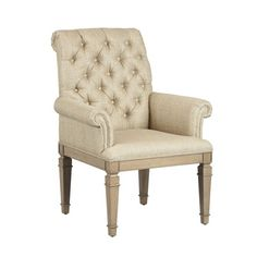 I pinned this Terra Lodge Arm Chair from the Decadent Dining Room event at Joss & Main!