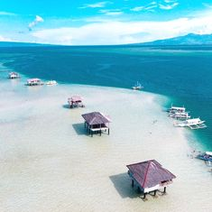 Manjuyod Sand Bar, Dumaguete Photo by Kalanggaman Island, Island Life, Relaxing Photos, Philippines Vacation, Beach Bum, Vacation Destinations, Asia Travel, Traveling By Yourself, To Go