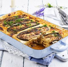 Auberginen Moussaka - Low Carb Tags: