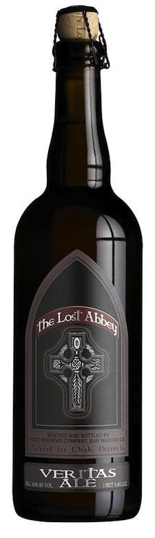 """Lost Abbey Veritas - Veritas are super limited releases (""""release"""" may be too strong a word) by one of San Diego's finest. How rare? Its fifth release (005) was never sold and consists of just 6 cases. Their 4th release (004), produced in 2008, was an American Wild Ale that even with 70 cases produced, can still set you back over $500 a bottle."""