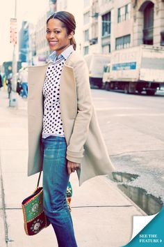 Love how put together this is! Tory's Blog - Best Dressed