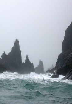 The stormy seas of the Iron Islands