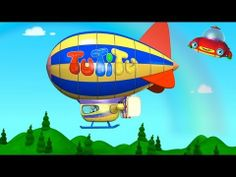 TuTiTu - the toddlers flying red friend- makes a Zeppelin. Kids Videos, Baby Videos, Happy Sing, Sing Along Songs, 3d Animation, Just Kidding, Zeppelin, Animated Gif, Kids Toys