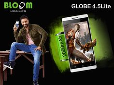 Bloom GLOBE 4.5 Lite Battery Is As Smart As Your Smartphone