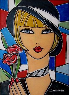 Discover great art by contemporary artist Laurence Treizenem. Browse artworks, buy original art or high end prints. Arte Pop, Abstract Face Art, Simple Acrylic Paintings, Painting Of Girl, Portrait Art, Contemporary Paintings, Online Art Gallery, Female Art, Amazing Art