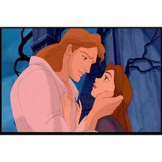 Prince Adam and Belle.jpg ❤ liked on Polyvore