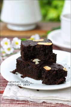 Catatan Nina: BROWNIES PISANG