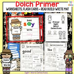 Using these Kindergarten Sight Words is a great way to supplement learning at home. These are all common words that they'll use a lot, too. Sight Word Flashcards, Sight Word Worksheets, Fun Worksheets, Kindergarten Worksheets, Dolch Sight Words Kindergarten, Learning Sight Words, Learning Letters, Letter B Crafts, Pre Primer Sight Words