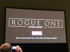 Rogue One: A Star Wars Story comic miniseries coming October 2016!