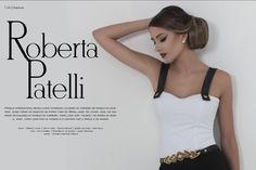 Roberta Patelli para a 1ª edição Revista Estilo Chic