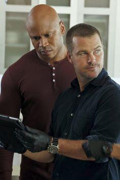 NCIS LA - L.L. Cool J & Chris O'Donnell- Sam and Callen