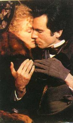 The Age of Innocence (1993) Daniel Day-Lewis as Newland Archer and Michelle Pfeiffer as Ellen, Countess Olenska. Director: Martin Scorsese #CostumeDesign: Gabriella Pescucci
