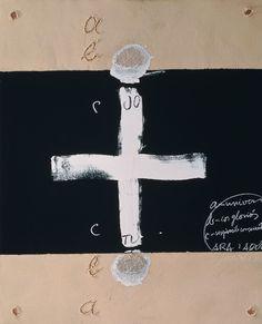 justanothermasterpiece:    Antoni Tapies, Dietari Num. 5, 2002.