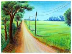 Pastel, Laura Mateescu, www. Pastel, Country Roads, Cake, Color Palettes