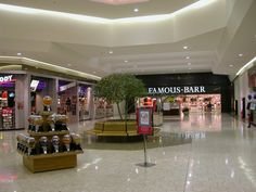 Sam Goody & Famous-Barr at Jamestown Mall, 1998