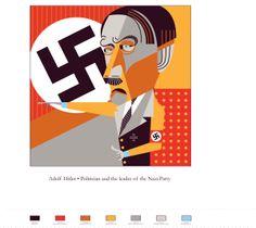 pablo lobato illustrations | An illustration of Adolf Hitler was created based on Pablo Lobato ...