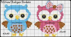 Cross Stitch Owl, Cross Stitch Kitchen, Cross Stitch Bookmarks, Cross Stitch Animals, Cross Stitch Designs, Cross Stitching, Cross Stitch Embroidery, Cross Stitch Patterns, Graph Crochet