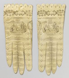 Woman's Gloves (Spain), 1800–1820