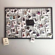 Photo frame display, collage picture frames, polaroid wall, kitchen set up, Photo Frame Display, Photo Displays, Polaroid Pictures Display, Picture Frames, Room Decor Bedroom, Living Room Decor, Photowall Ideas, Kitchen Set Up, Room Kitchen
