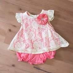 Brand New Alimrose Girl's Bloomers & Summer Hat Set Size Small 3-6 Months Possessing Chinese Flavors