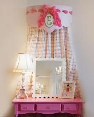 cute for bed or little desk