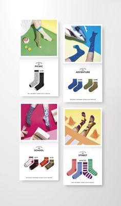 Packaging Design, Branding Design, Poster Design Inspiration, My Socks, Illustrator Tutorials, Love Design, Commercial Photography, Knitting Socks, Candy Colors