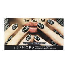 Nail Patch Art - Stickers vernis imprimés - Ma minaudière zèbre - SEPHORA