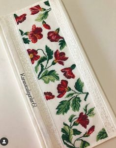 Cross Stitch Flowers, Cross Stitch Patterns, Diy And Crafts, Coin Purse, Towel, Embroidery, Canvas, Handmade, Couture