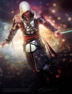 If you wanna feature this artwork please. Edward Kenway - Collab w/ Assassins Creed Memes, Assassins Creed Black Flag, Assasin Creed Unity, Assassin's Creed Videos, Tes Skyrim, All Assassin's Creed, Edwards Kenway, Licence To Kill, Elder Scrolls Skyrim