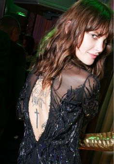 Model Catherine McNeil has a reported 108 tattoos