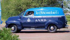 1949 - Chevrolet Panel Van - side