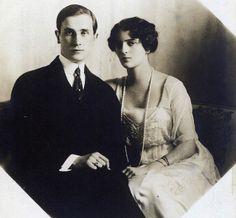 PRINCE AND PRINCESS YUSSUPOV FELIX AND IRINA
