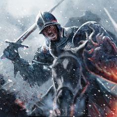 Baratheon Cavalryman by MikeGardnerArt.deviantart.com on @DeviantArt