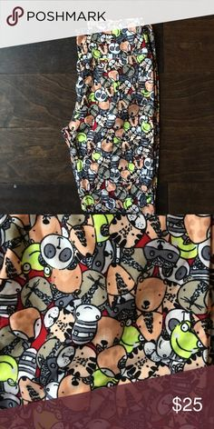BNWT LuLaRoe OS Animal Critter Leggings UNICORN! Bears, frogs, zebras, pandas, raccoons, foxes, tigers, all in these adorable leggings. BRAND NEW! LuLaRoe Pants Leggings
