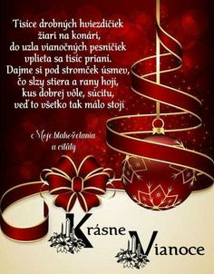 želá Inga s rodinou Christmas Blessings, Christmas Quotes, Christmas Traditions, Christmas Sentiments, Christmas Greetings, Christmas Baubles, Christmas Holidays, Christmas Decorations, Christmas Ideas