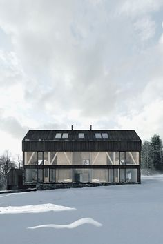 Modern Barn, Modern Farmhouse, Sustainable Architecture, Modern Architecture, Architectural Shingles, Fibreglass Roof, Vacation Apartments, Architecture Visualization, Forest House