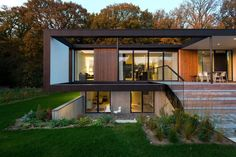 Modern Family Home in Denmark Brings the Forest Inside - http://freshome.com/modern-family-home-denmark/