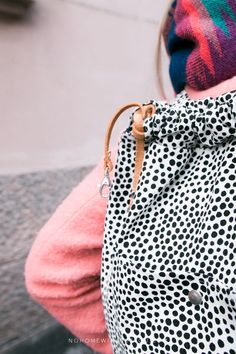 DOOR 18: DIY CANVAS BACKPACK – FREE PATTERN WITH 10 STEP INSTRUCTIONS